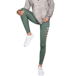 VS Pink leggings - side cutouts